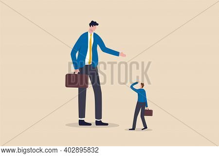 Big Business Competitor, Career Obstacle, Conflict With Boss, Overcome Difficulties In Work Or Entre