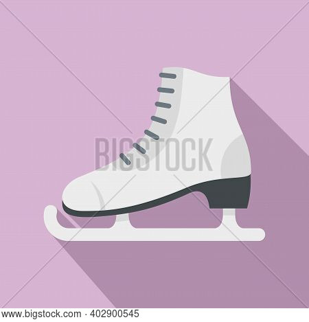 Sweden Skates Icon. Flat Illustration Of Sweden Skates Vector Icon For Web Design