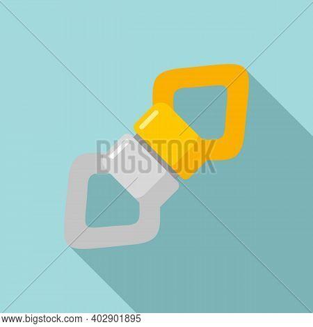 Industrial Climber Tool Icon. Flat Illustration Of Industrial Climber Tool Vector Icon For Web Desig