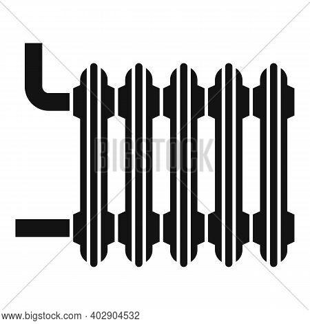 Hot House Radiator Icon. Simple Illustration Of Hot House Radiator Vector Icon For Web Design Isolat