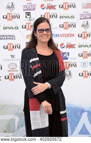 Giffoni Valle Piana, Sa, Italy - July 24, 2019 : Eleonora Andreatta At Giffoni Film Festival 2019 -