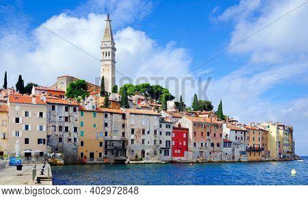Rovinj resort, Istrian Peninsula, Croatia, Europe