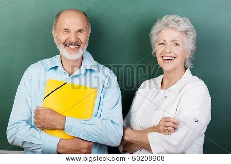 Confident Happy Senior Couple