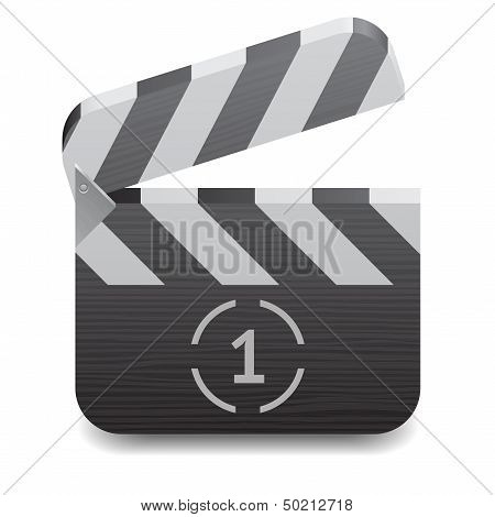 Icon For Clapper Board
