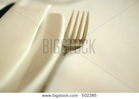 Fork And Napkin