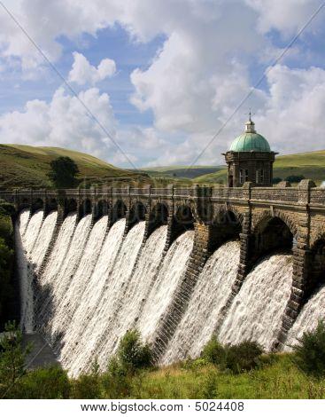 Craig-goch Dam. Elan Valley - Wales