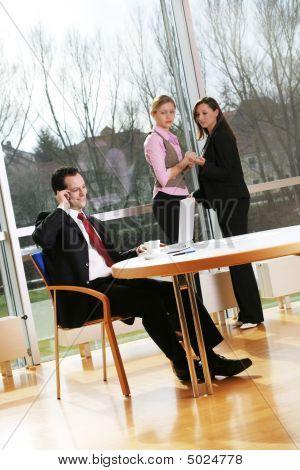 A Successful Business Team
