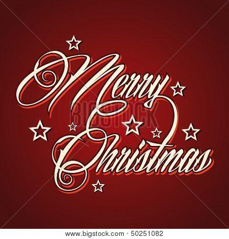 Creative Merry Christmas greeting