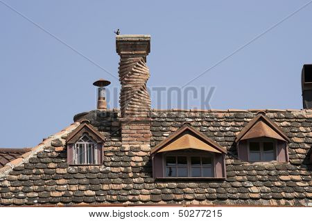 unusual chimney