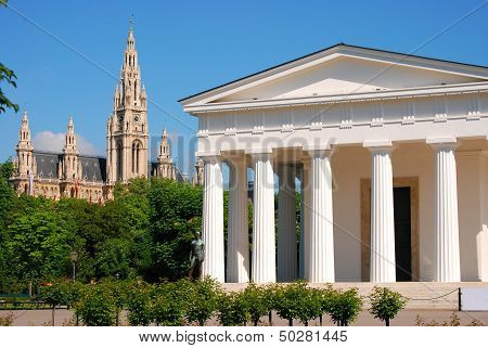 Theseus temple and townhall