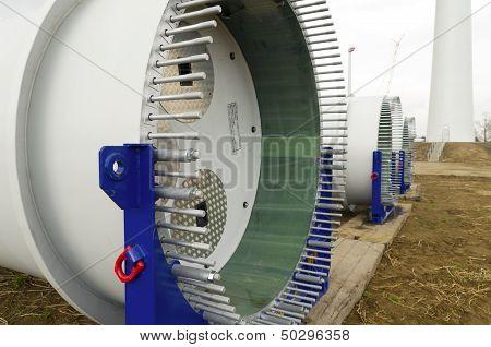 Part Of New Windturbine