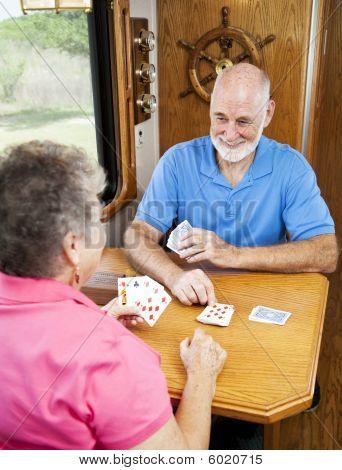 Rv Seniors - Playing Cribbage