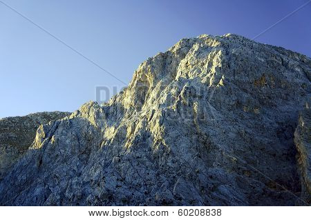 rocky sewn in the White Mountains