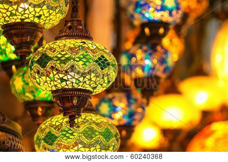 Traditional Vintage Turkish Lamps