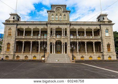 Iolani Palace, Downtown Honolulu, Hawaii