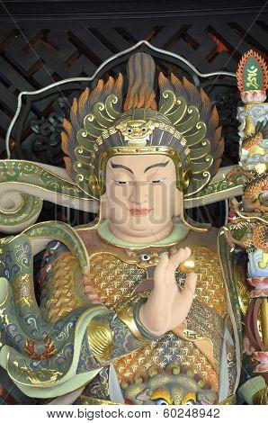 Buddha's guard statue