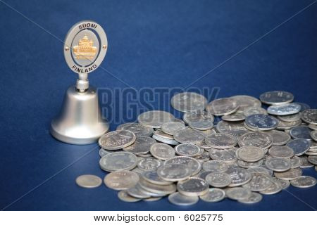Coins And Bell
