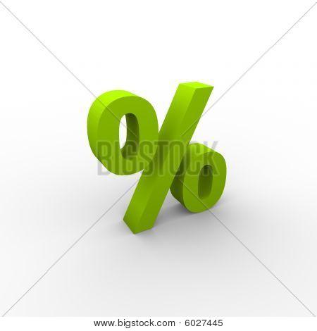 Green 3d percent