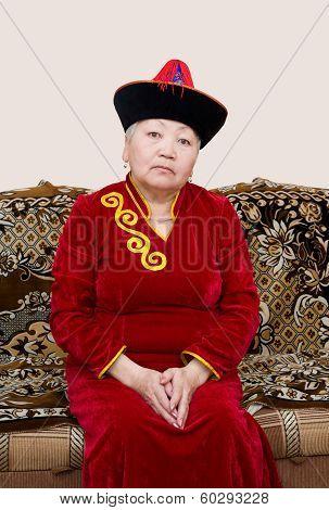 Buryat (mongolian) Senior Woman