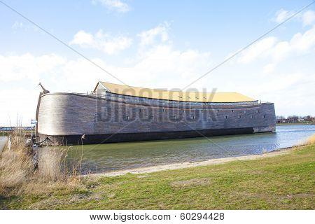 Replica Of Ark Of Noah In The Netherlands