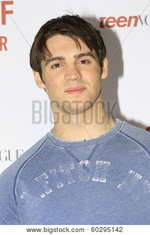 LOS ANGELES - FEB 22: Steven R McQueen at the Abercrombie & Fitch 'The Making of a Star' Spring Campaign Party on February 22, 2014 in Los Angeles, CA