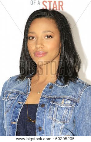 LOS ANGELES - FEB 22: Kylie Bunbury at the Abercrombie & Fitch 'The Making of a Star' Spring Campaign Party on February 22, 2014 in Los Angeles, CA