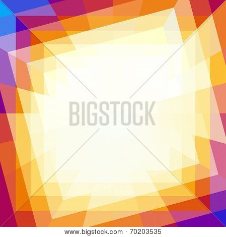 Abstract Coloful Technology Background. Vector illustration for your design poster