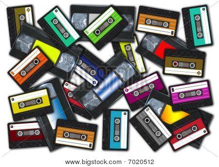 Audio / Video retro tapes