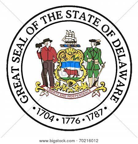 Great Seal Of Delaware