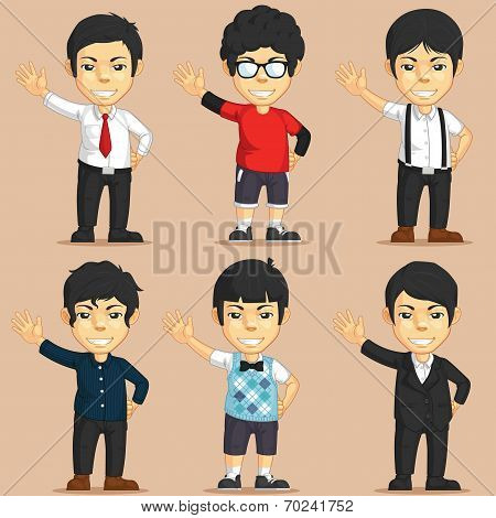 Office Worker Character Set