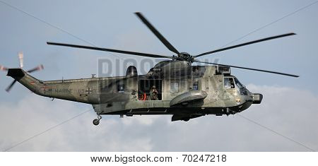 Military helicopter at Hansesail 2014