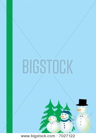 Christmas Stationery Illustration
