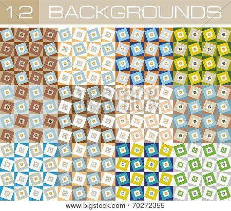 Background squares 12
