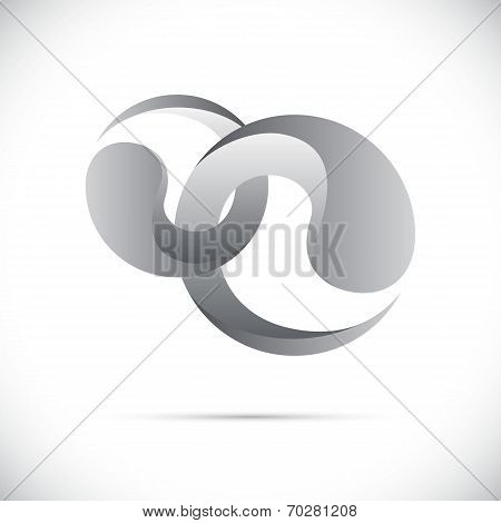 Sphere Abstract vector design template. Business