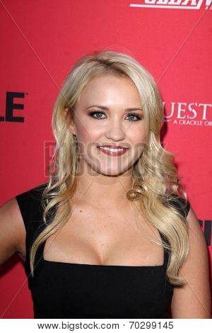 LOS ANGELES - AUG 14:  Emily Osment at the Crackle Presents the Premieres of