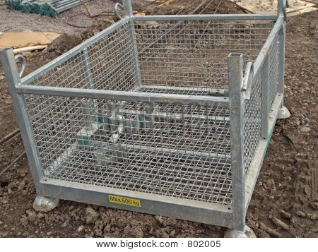 Basket for small spare parts