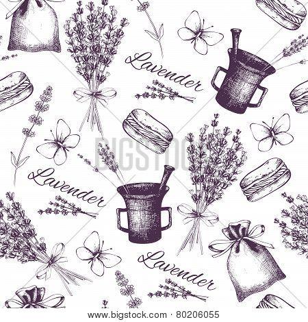 Lavender pattern