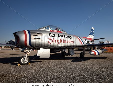 Koren War Era F-86 Sabre