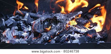 Coal Ash And Fire