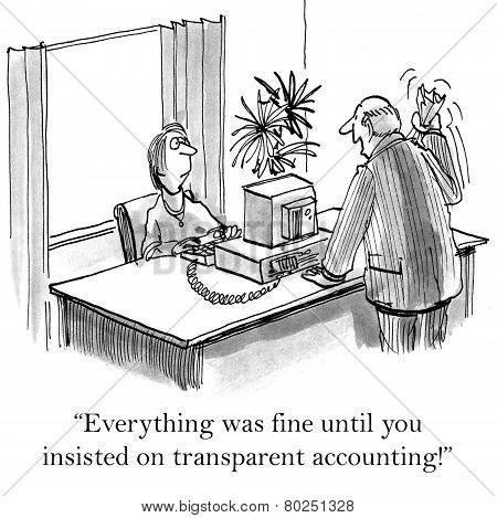 Transparent Accounting