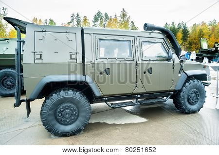 VPK-233115 Tigr-M armored vehicle. Russia