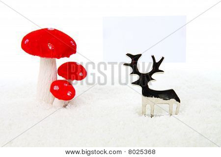 Reindeer Christmas Decoration