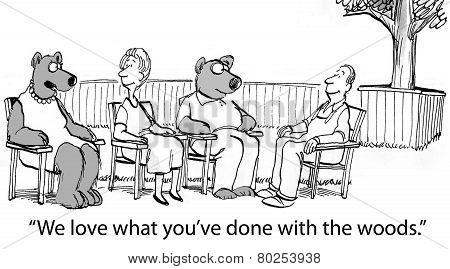 Bears Visit Neighbors