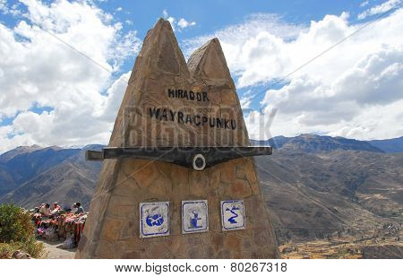 Mirador De Wayra Punku - Colca Canyon, Peru