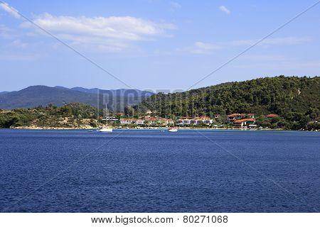 Bucht at the Ormos Panagias