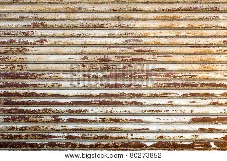 Rusty Shutter