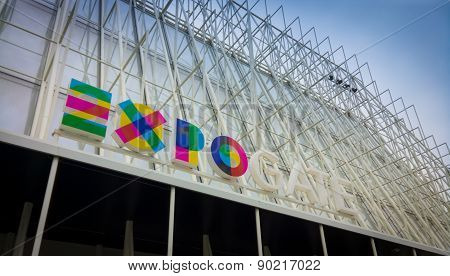 Expo Gate In Downtown Milan