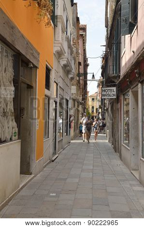 Venetian Narrow Street