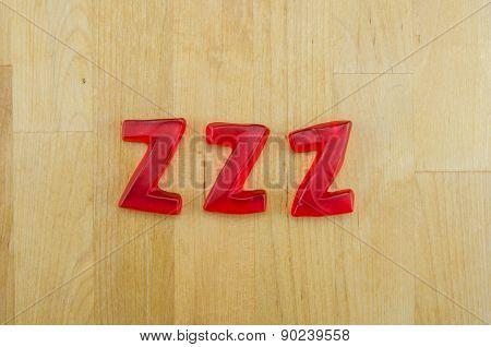 Gummys Words Zs