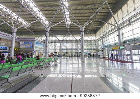 Dorasan Railway Station Inside